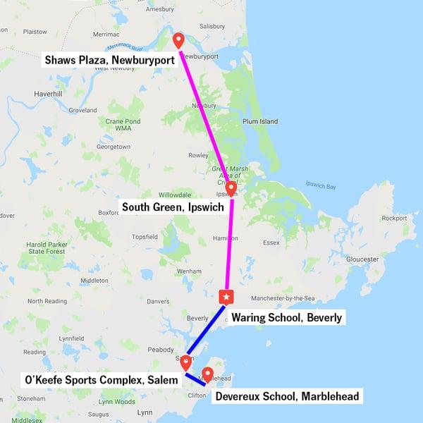 Bus Routes 72