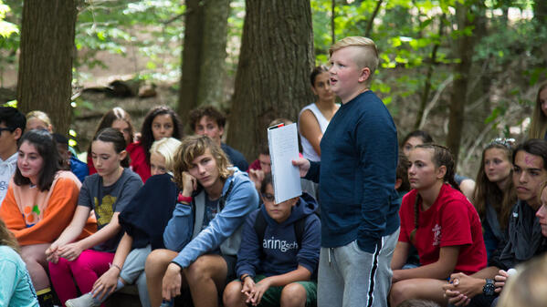 First Years Share Favorite Moments from Camping Trip-1-1