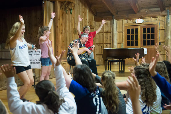 First Years Share Favorite Moments from Camping Trip-2