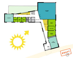 Sun draft floor plan
