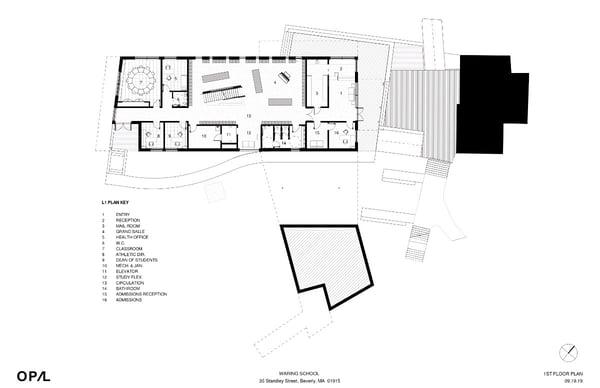 school building floor 1