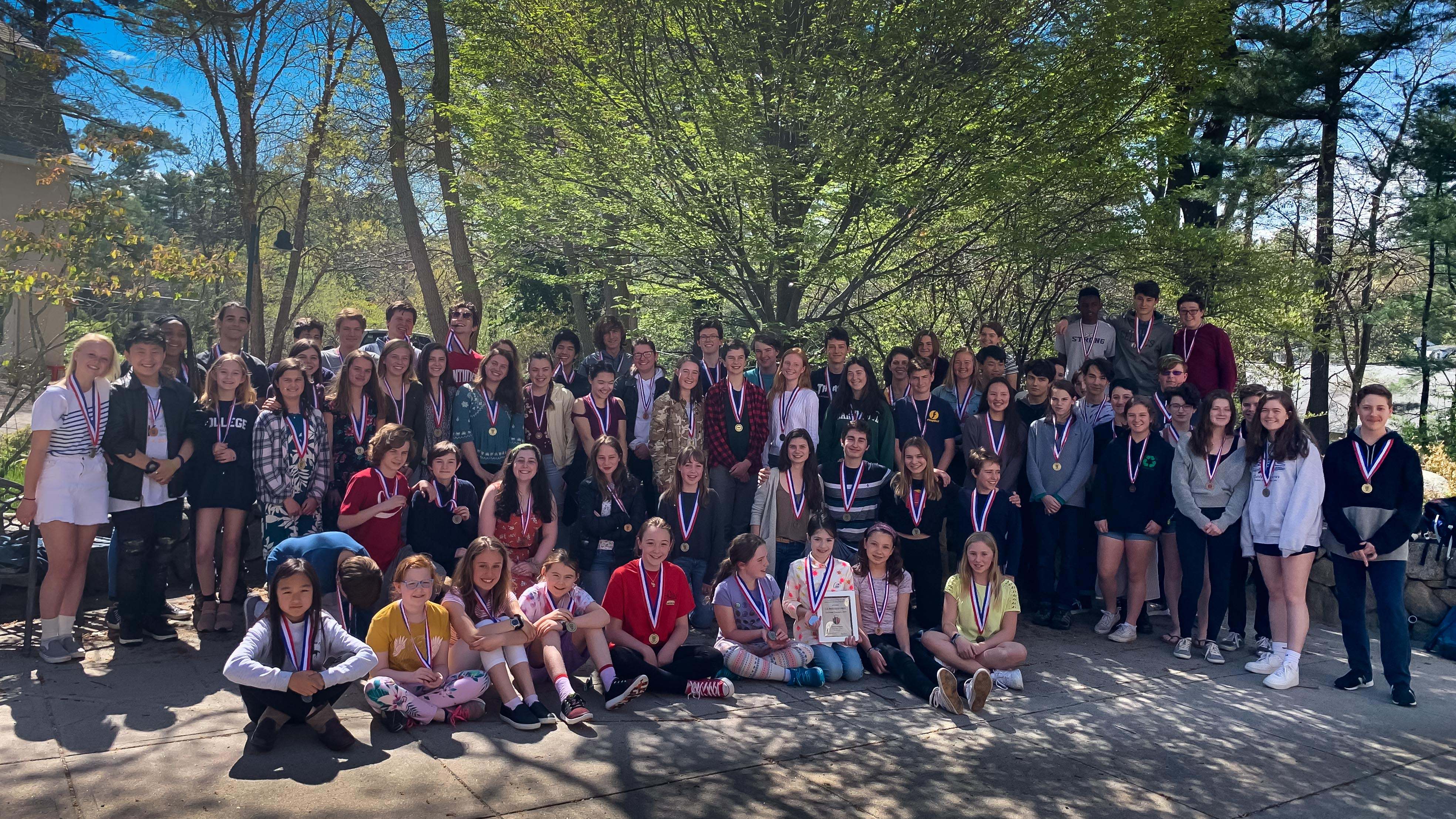 69 Students Medal On National French Contest, 2 Students